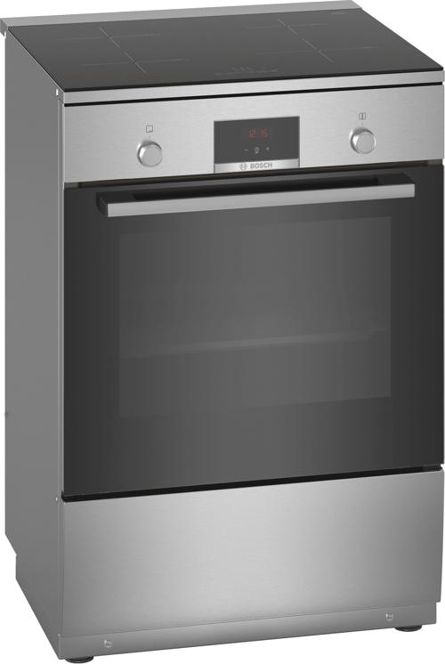 Bosch Hln39a050u Induktionsspis - Rostfritt Stål