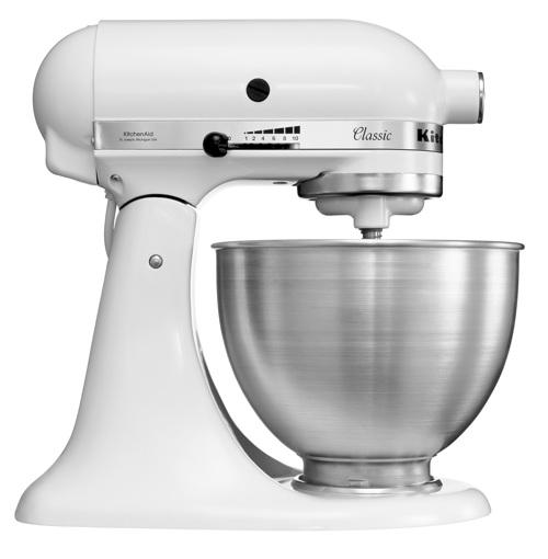 Kitchenaid Classic Røremaskine - Hvid