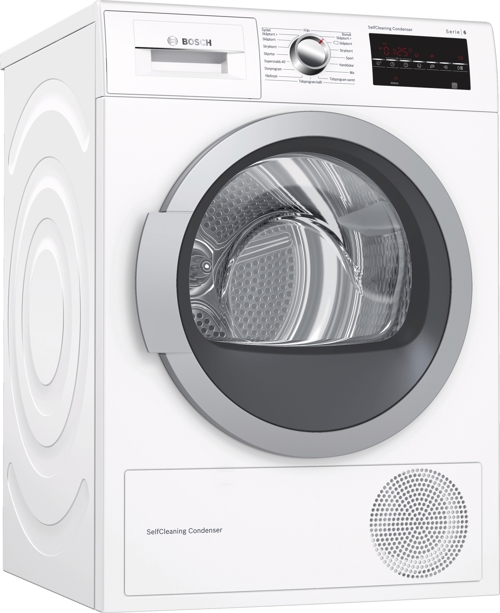 Bosch WTW87478SN Energivenlig