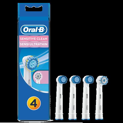 Oral-b Sensitive Clean 4-pack Tillbehör Till Tandvård