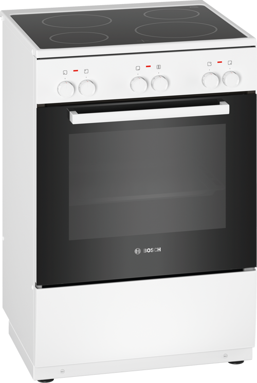 Bosch Hka000020u Glaskeramikspis - Vit