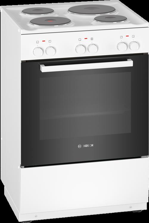 Bosch Hqa005020u Serie 2 Keramisk Komfur - Hvid