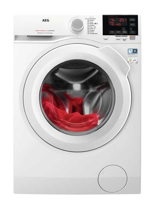Aeg L6fsk863g Tvättmaskin - Vit