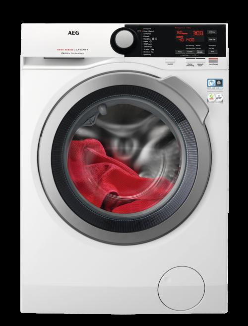 Aeg L8fsk865e Tvättmaskin - Vit