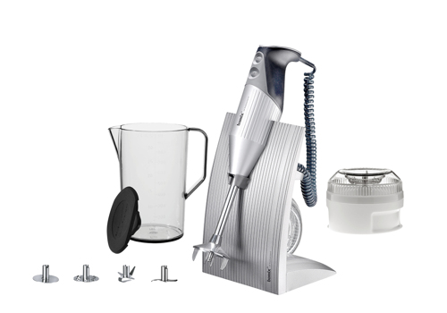 Bamix Swissline Xl Silver Stavmixer - Silver