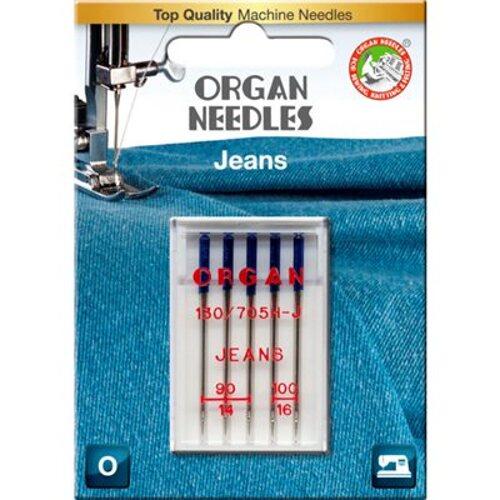 Organ Mixed Jeans Needles Symaskine
