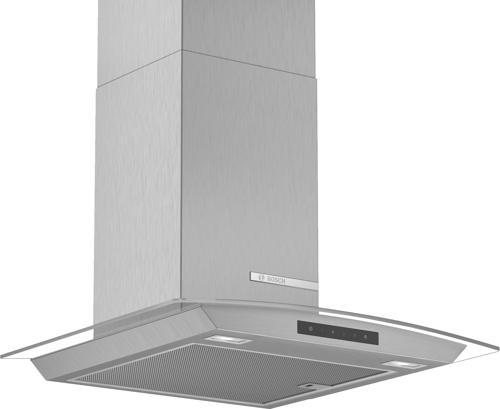 Bosch Dwa66dm50 Vägghängd Köksfläkt - Rostfritt Stål