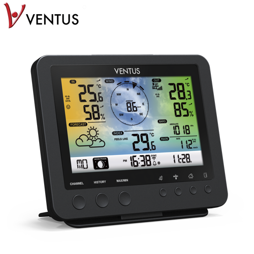 Ventus Wi-fi W832 5-i-1 Professional Sensor Väderstationer