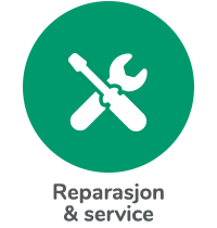 Reparasjon & service