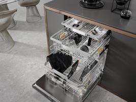 Miele espressomaskin demonteres og settes i oppvaskmaskin