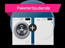 Paketerbjudande tvätt-tork