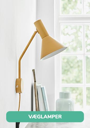Frandsen Lyss væglampe i gul